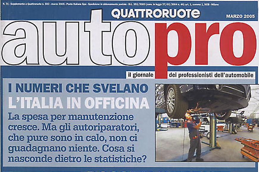LE OFFICINE TRANI SU AUTO PRO DI MARZO 2005