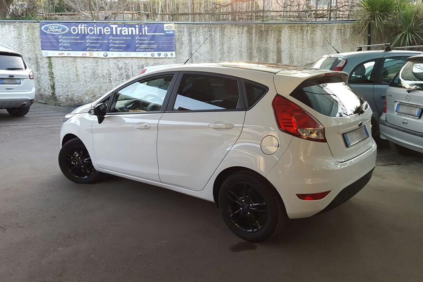 FIESTA BLACK AND WHITE EDITION 1.5 TDci 75 CV